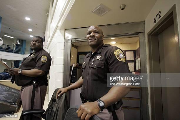 Tracy A Woodward/The Washington Post Alexandria Detention Center 2001 Mill Road Alexandria VA Duwayne Morris an Alexandria deputy sheriff who...