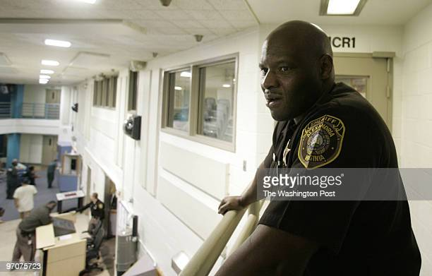 Tracy A Woodward/The Washington Post Alexandria Detention Center 2001 Mill Road Alexandria VA Duwayne Morris an Alexandria deputy sheriff who...