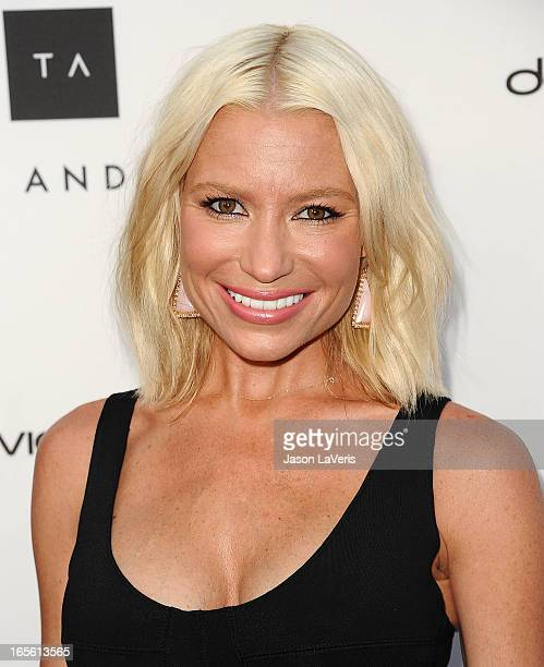 Tracy Anderson attends the opening of Tracy Anderson Flagship Studio on April 4 2013 in Brentwood California