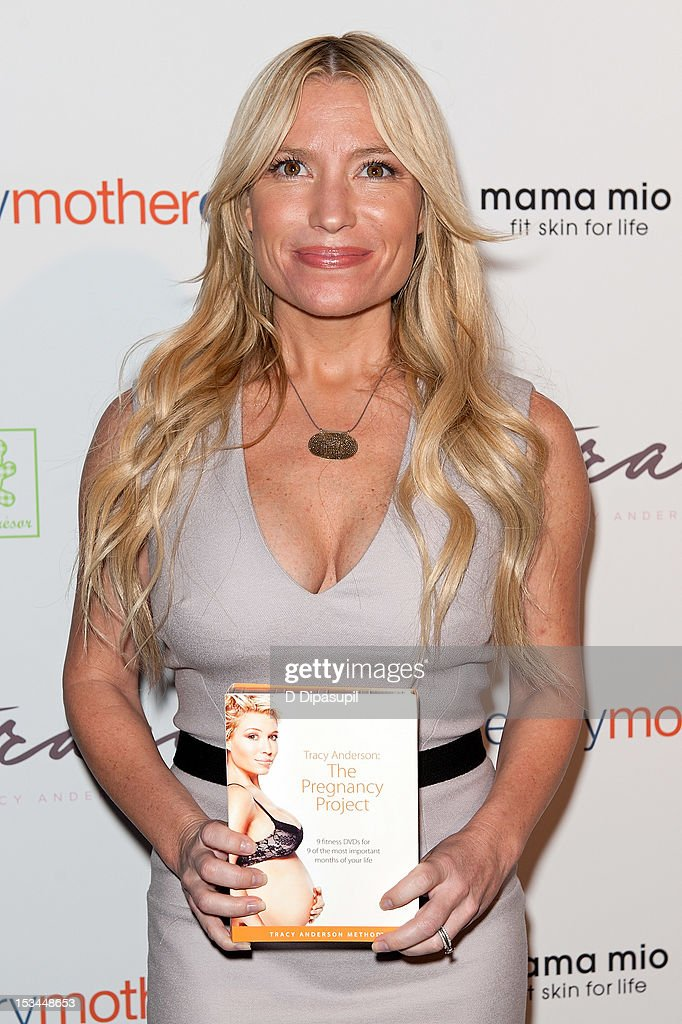 Tracy Anderson attends The Tracy Anderson Method Pregnancy Project at Le Bain At The Standard on October 5, 2012 in New York City.