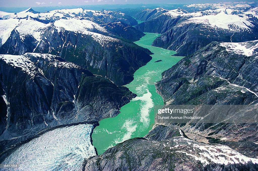 Tracy Arm Fjord Southeast Alaska Stock Photo Getty Images - Tracy arm fjord