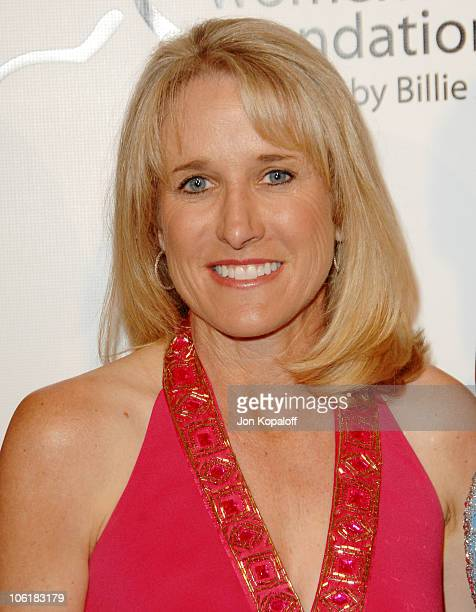 Tracy Austin during Women's Sports Foundation Presents 'The Billies' Arrivals' at Beverly Hilton Hotel in Beverly Hills California United States