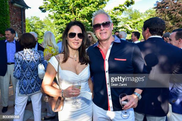 Tracy Bahl and Alisa Bahl attend Maison Gerard Presents Marino di Teana A Lifetime of Passion and Expression at Michael Bruno and Alexander Jakowec's...