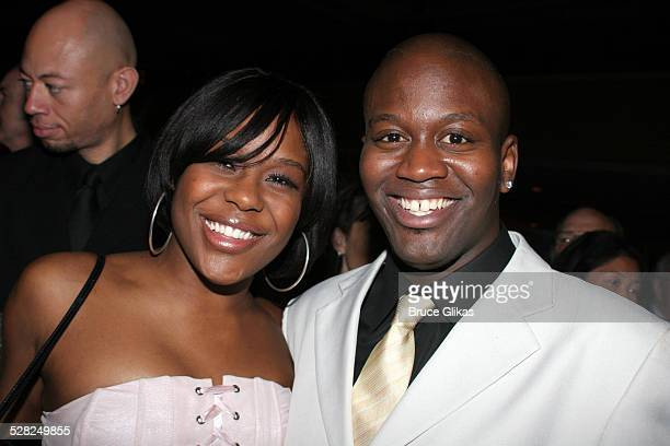 Tracy Beezer and Tituss Burgess during Opening Night After Party for Jersey Boys on Broadway at The August Wilson Theater and The Marriott Marquis...