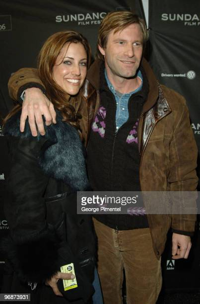 Tracy Brennan and Aaron Eckhart