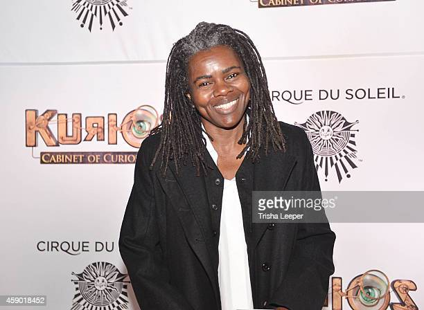 "Tracy Chapman attends Cirque du Soleil ""Kurios"" - Opening Night - San Francisco, CA at AT&T Park on November 14, 2014 in San Francisco, California."