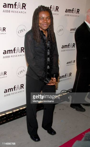 Tracy Chapman during AmfAR New York City Gala Honoring John Demsey, Whoopi Goldberg and Bill Roedy - Inside at Cipriani's 42nd Street in New York...