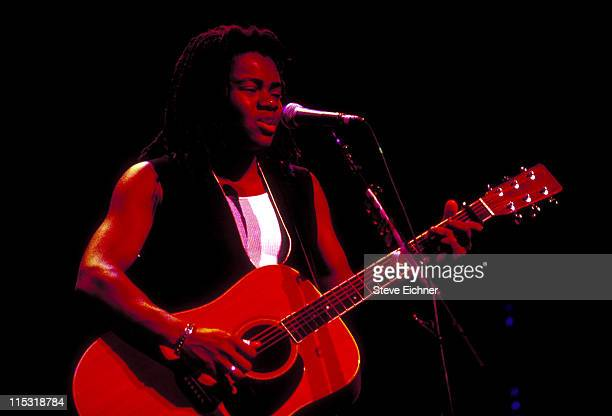 Tracy Chapman during Tracy Chapman in Concert at Beacon - 1992 at Beacon Theater in New York City, New York, United States.