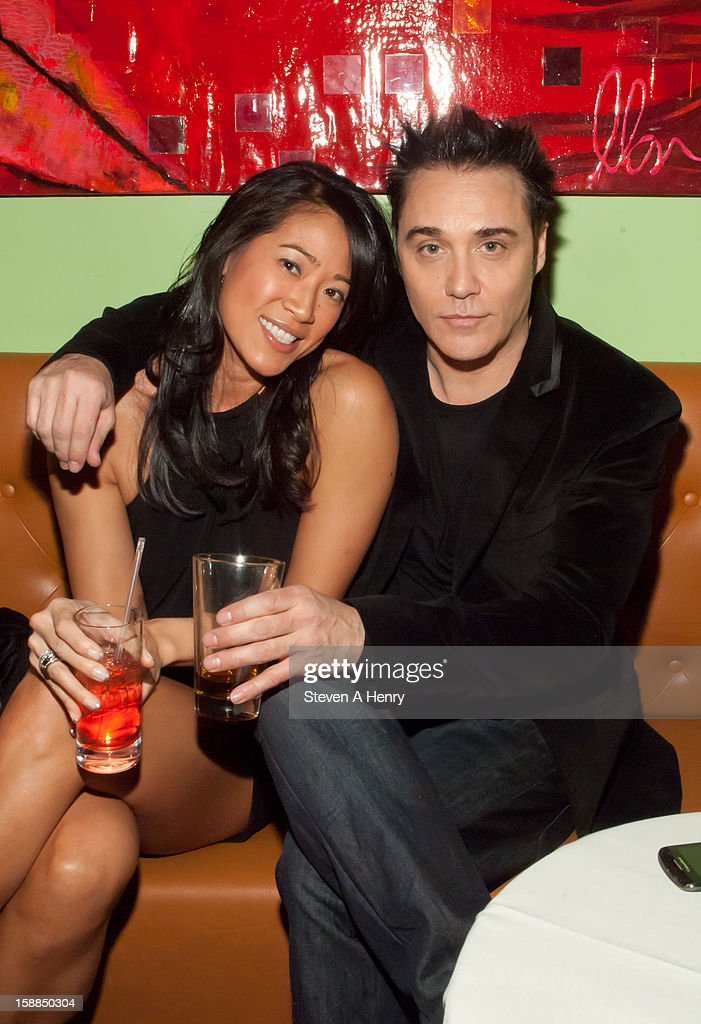 Tracy Chin and Vincent Young attends New Year's Eve 2013 at Bamboo 52 on December 31, 2012 in New York City.