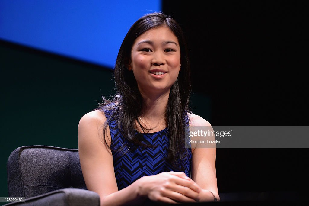 Tracy Chou, Engineering Lead, Pinterest speaks onstage at the WIRED Business Conference 2015 at Museum of Jewish Heritage on May 12, 2015 in New York City.