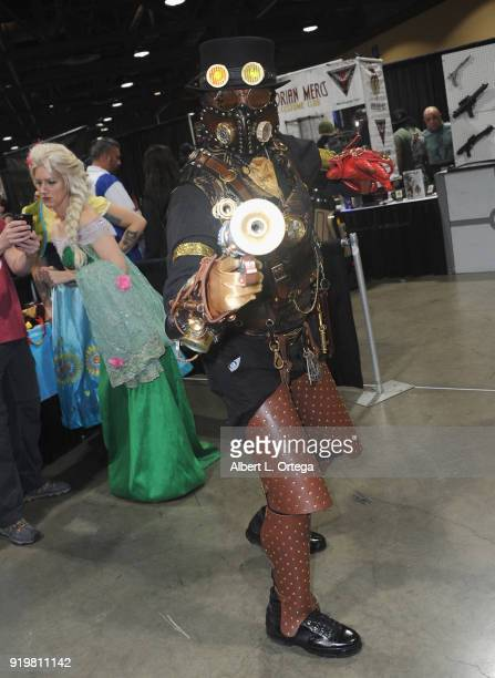 Tracy Davis attends day 1 of the 8th Annual Long Beach Comic Expo held at Long Beach Convention Center on February 17 2018 in Long Beach California