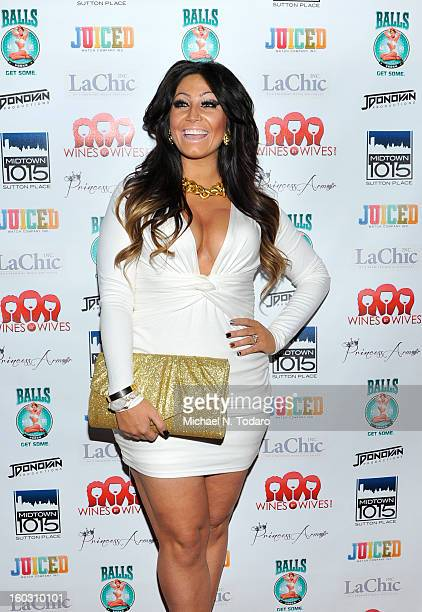 Tracy Dimarco attends Jerseylicious Season 5 Premiere Party at Midtown Sutton on January 28 2013 in New York City