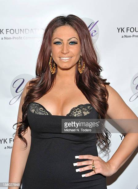 Tracy DiMarco attends the 2012 YK Foundation Event at the Westmount Country Club on January 31 2012 in West Paterson New Jersey