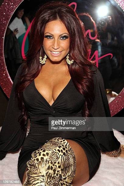 Tracy DiMarco attends the Glam Fairy premiere at the Gansevoort Park Avenue on October 20 2011 in New York City