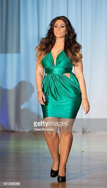 Tracy Dimarco attends The Reality Of Fashion The Reality Of AIDS Benefit during Fall 2013 Fashion Week at Altman Building on February 9 2013 in New...