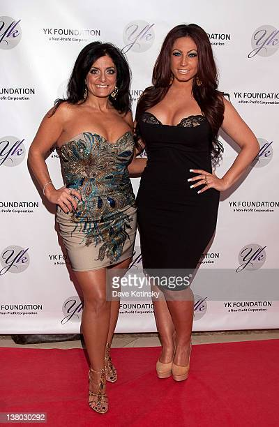 Tracy DiMarco Kathy Wakile attends the 2012 YK Foundation Event>> at the Westmount Country Club on January 31 2012 in West Paterson New Jersey