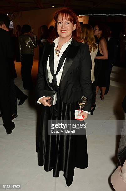 Tracy Griffith attends the Bright Young Things Gala 2016 a Young Patrons of the National Theatre event in support of emerging talent at The National...