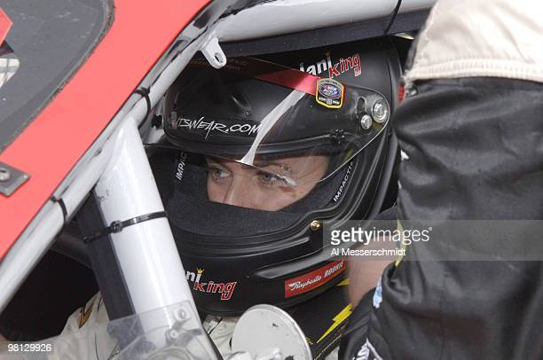 Tracy Hines in the Sharpie Mini 300 Busch Series race at Bristol Motor Speedway in Bristol Tennessee on March 25 2006