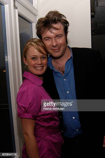 Tracy Hook and Will Stuart attend Whitney Biennial Artists Party at Trata Estiatoria on March 8 2008 in New York City
