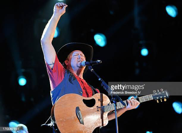 Tracy Lawrence performs at LP Field during the 2013 CMA Music Festival on June 6, 2013 in Nashville, Tennessee.