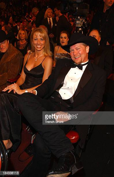 Tracy Lawrence wife at the 37th Academy of Country Music Awards Show