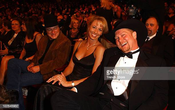 Tracy Lawrence wife Mark Chesnutt at the 37th Academy of Country Music Awards Show