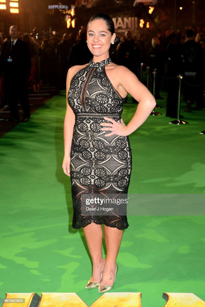 Tracy Leanne Jefford attends the 'Jumanji: Welcome To The Jungle' UK premiere held at Vue West End on December 7, 2017 in London, England.