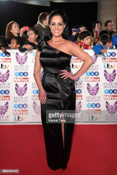Tracy Leanne Jefford attends the Pride Of Britain Awards at the Grosvenor House on October 30 2017 in London England
