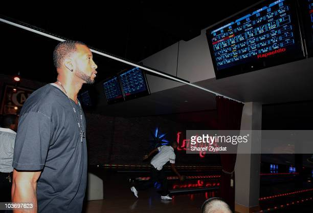 Tracy McGrady attends the 2010 Celebrity Bowling Tournament Party at Lucky Strike on August 27 2010 in New York City