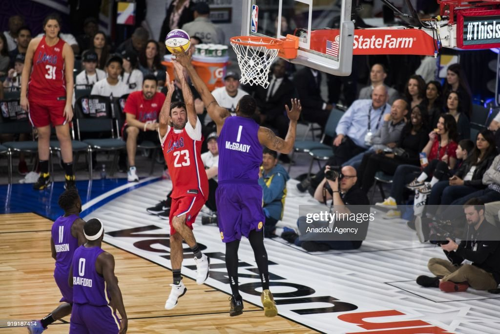 NBA All-Star Celebrity Game 2018  : News Photo
