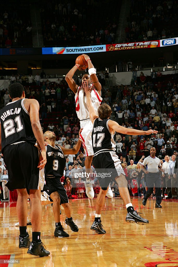 San Antonio Spurs v Houston Rockets : News Photo