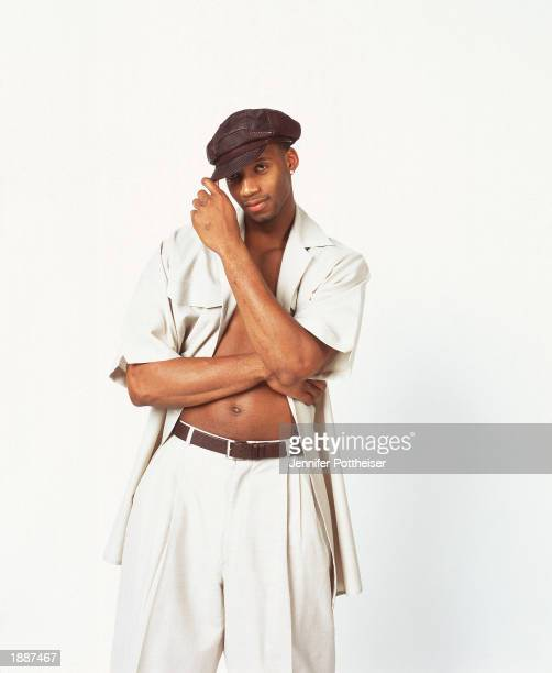 Tracy McGrady of the Orlando Magic poses for a NBA portrait on December 2 2002 in Orlando Florida NOTE TO USER User expressly acknowledges and agrees...