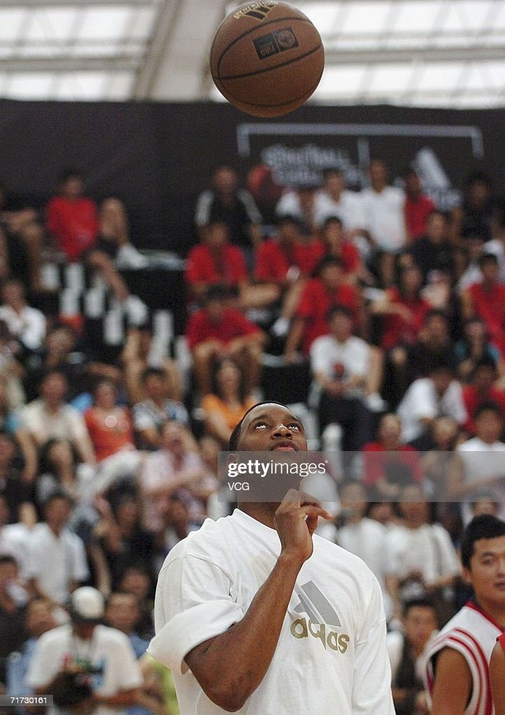 tracy mcgrady meets fans in guangzhou pictures getty images