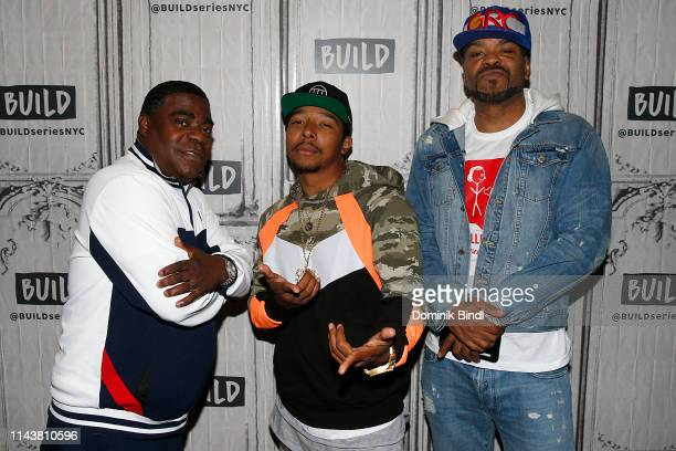 Tracy Morgan, Allen Maldonado and Method Man attend the Build Series to discuss 'The Last O.G.' at Build Studio on May 14, 2019 in New York City.