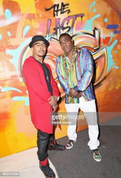 Tracy Morgan and Allen Maldonado attend the For Your Consideration Red Carpet Event for TBS' Hipsters and OG's at Steven J Ross Theatre on the Warner...