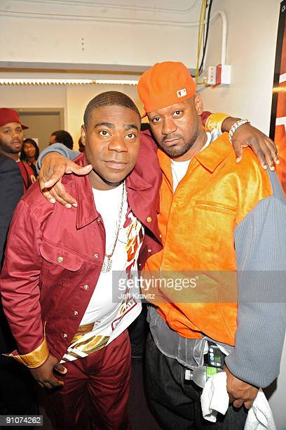 Tracy Morgan and Ghostface Killah attends the 2009 VH1 Hip Hop Honors at the Brooklyn Academy of Music on September 23 2009 in the Brooklyn borough...