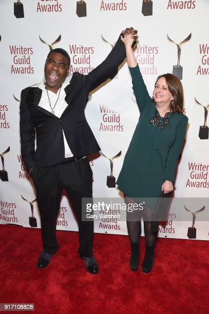 Tracy Morgan and Rachel Dratch attend the 2018 Writers Guild Awards at Edison Ballroom on February 11 2018 in New York City