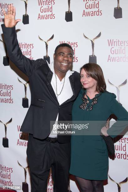 Tracy Morgan and Rachel Pratch attend the 2018 Writers Guild Awards NYC Ceremony on February 11 2018 in New York City