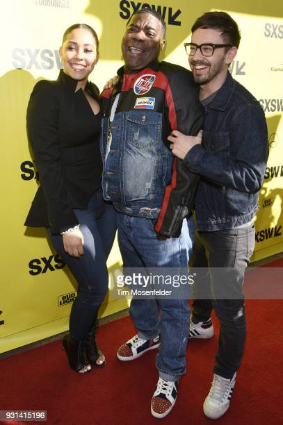 Tracy Morgan and wife and Jorma Taccone attend the premiere of The Last OG at the Paramount Theatre during on March 12 2018 in Austin Texas