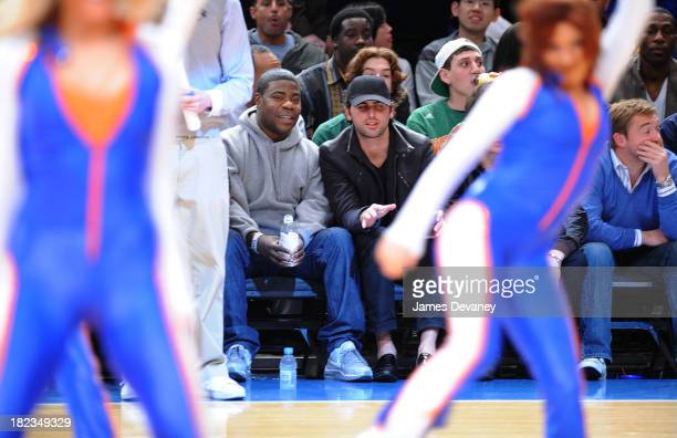 Tracy Morgan attends Charlotte Bobcats vs New York Knicks game at Madison Square Garden on March 7, 2009 in New York City.