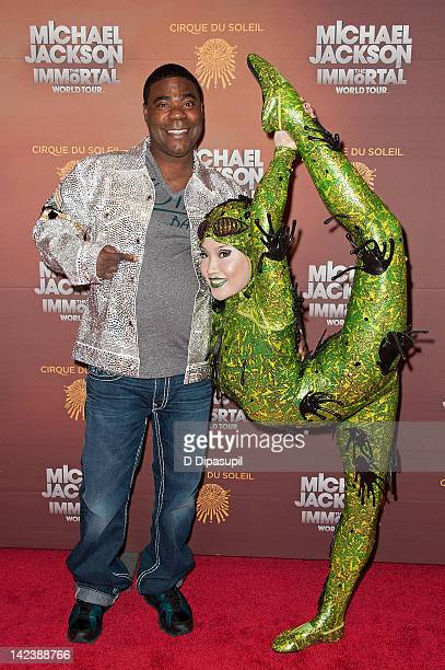 Tracy Morgan attends Michael Jackson THE IMMORTAL World Tour at Madison Square Garden on April 3, 2012 in New York City.