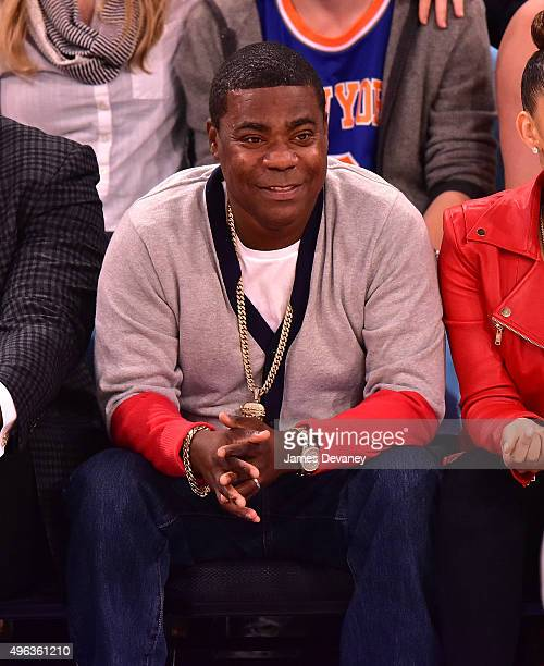 Tracy Morgan attends New York Knicks vs Los Angeles Lakers game at Madison Square Garden on November 8, 2015 in New York City.