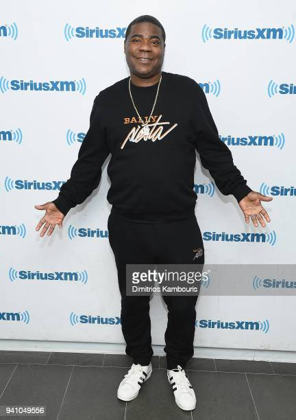 Tracy Morgan attends SiriusXM at SiriusXM Studios on April 2 2018 in New York City