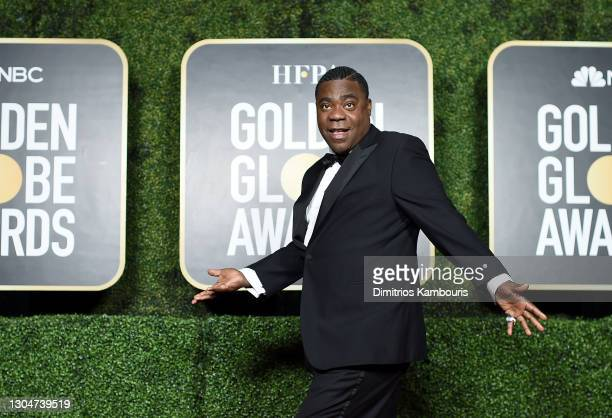 Tracy Morgan attends the 78th Annual Golden Globe® Awards at The Rainbow Room on February 28, 2021 in New York City.