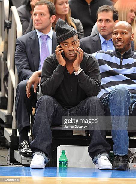 Tracy Morgan attends the Los Angeles Clippers vs New York Knicks NBA game at Madison Square Garden on February 9, 2011 in New York City.