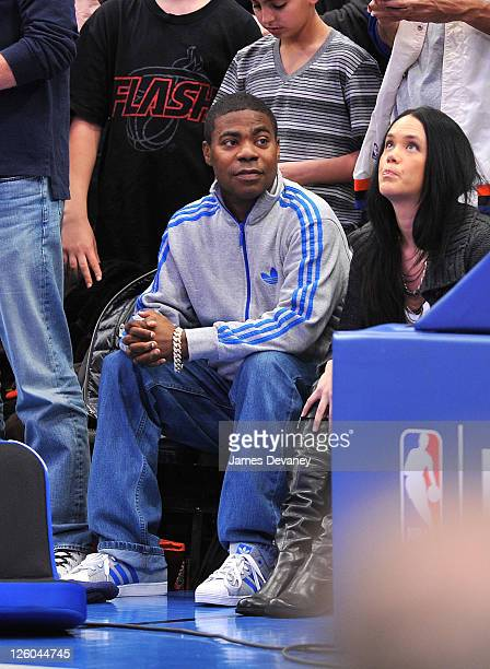 Tracy Morgan attends the Miami Heat vs New York Knicks game at Madison Square Garden on December 17 2010 in New York City