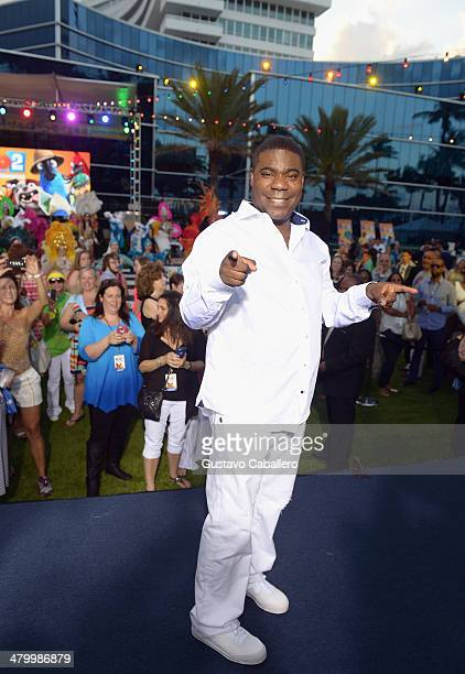 Tracy Morgan Attends The Rio 2 Premiere At Fontainebleau Miami Beach On March 21