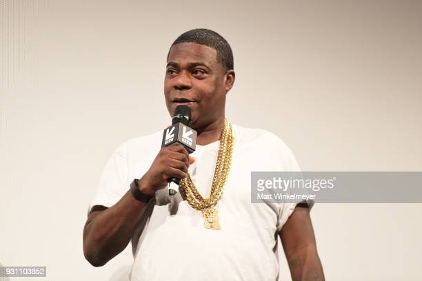 Tracy Morgan attends the The Last OG Premiere 2018 SXSW Conference and Festivals at Paramount Theatre on March 12 2018 in Austin Texas