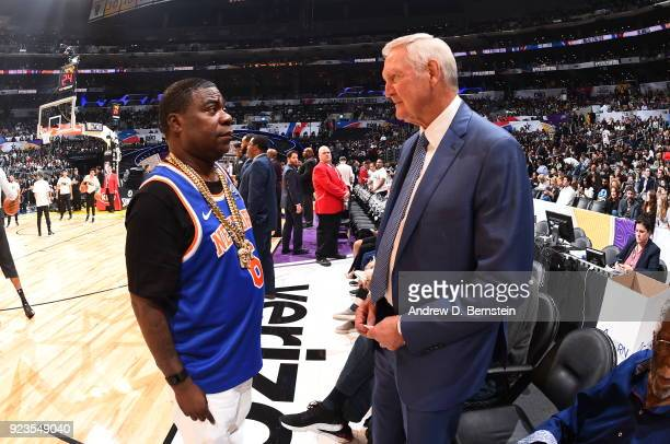 Tracy Morgan during the NBA AllStar Game as a part of 2018 NBA AllStar Weekend at STAPLES Center on February 18 2018 in Los Angeles California NOTE...