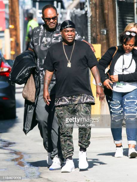 Tracy Morgan is seen arriving 'Jimmy Kimmel Live' on July 08 2019 in Los Angeles California